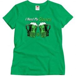 Green Beer Humor T-Shirt 2