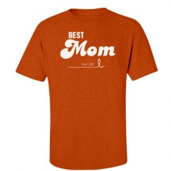 Custom best mom since shirt