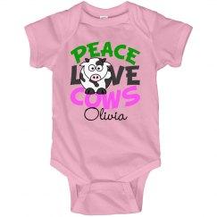 Peace Love Cows