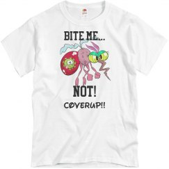 Bite me NOT T shirt