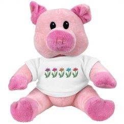 Cute Piggy Plushie