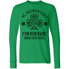 St Patricks Day 5k Custom Text