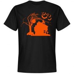 Halloween Manor Unisex Tee