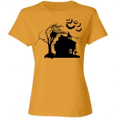 Halloween Manor Women's Tee