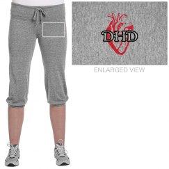 Darkened Heart Logo Pants
