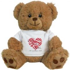 Love Never Fails Teddy Bear
