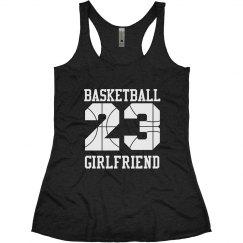 Trendy Basketball Girlfriend With Custom Numbers