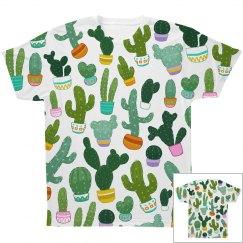 Succulent All Over Print Shirt