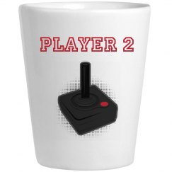 Player 2 Shotglass