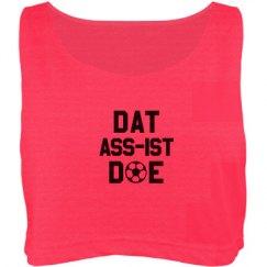 Dat-Ass-ist Doe Soccer Tank