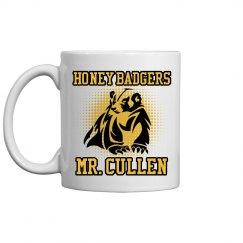 Mr. Cullen Teacher Mascot