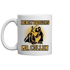 Mr. Cullen Teacher Mascot