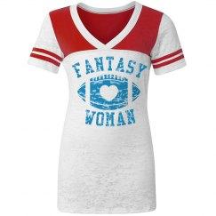 Fantasy Football Woman