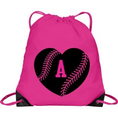 Varsity Baseball Love Monogram