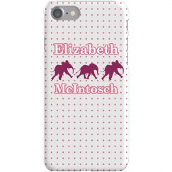 Pink Elephant iPhone Case
