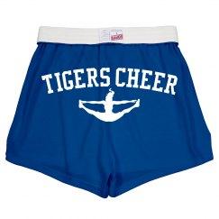 Tigers Cheer Shorts