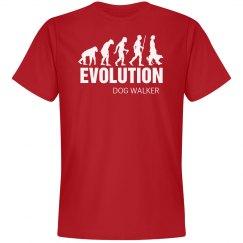 Evolution Dog Walker Shirt