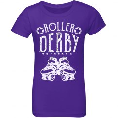 Roller Derby Youth Tee