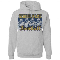 School Football Players