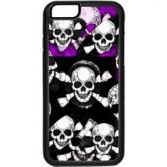 Purple Black Skull