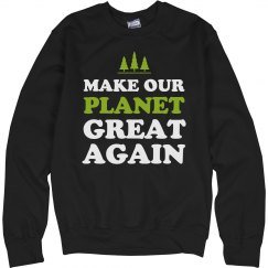 Cozy Make Our Planet Great Again