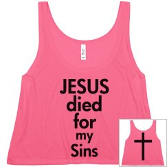 Jesus died for my sins