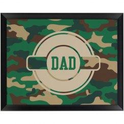 Army Dad Wall Plaque