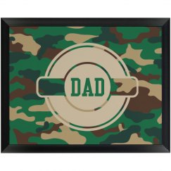 Army Dad Wall Plaque