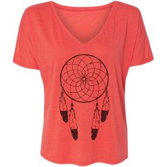Coral Dream Catcher