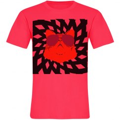 Neon Majestic Cat Web Unisex