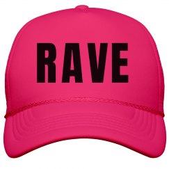 Rave Neon Pink Hat