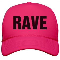 Rave Neon Pink Hat