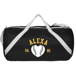 Custom Name Gym Bag