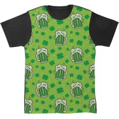 St Paddy's Day Green Beer Pattern
