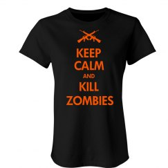 Keep Calm Zombies