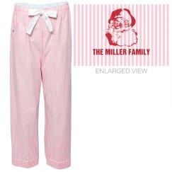 Your Family Name Christmas Pajama