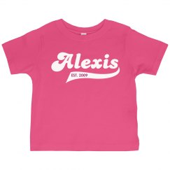 Alexis Personalized shirt