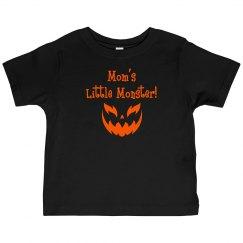 Halloween Toddler Shirt - Mom's Monster