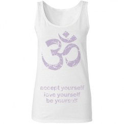Barefoot Yoga Motto