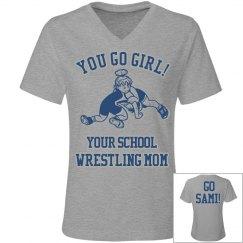 Girl Wrestler Mother!