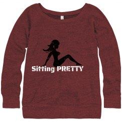 Sitting Pretty Red