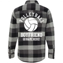 Plaid Volleyball Boyfriend