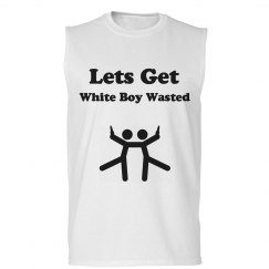 White Boy Wasted Tank