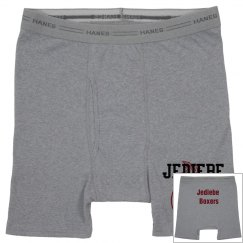 The boxing gym baby get a pair of briefs