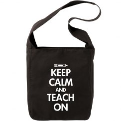 Keep calm teach on