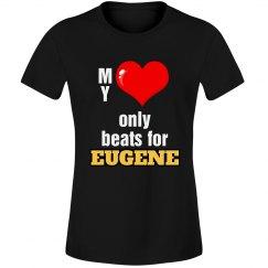 Heart beats for Eugene