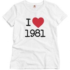 I love 1981