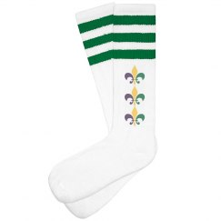 Design Mardi Gras Socks