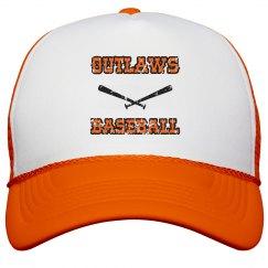 OUTLAWS BASEBALL TRUCKER HAT