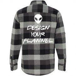 Custom Flannel Text